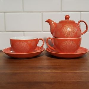 Mandela tea set